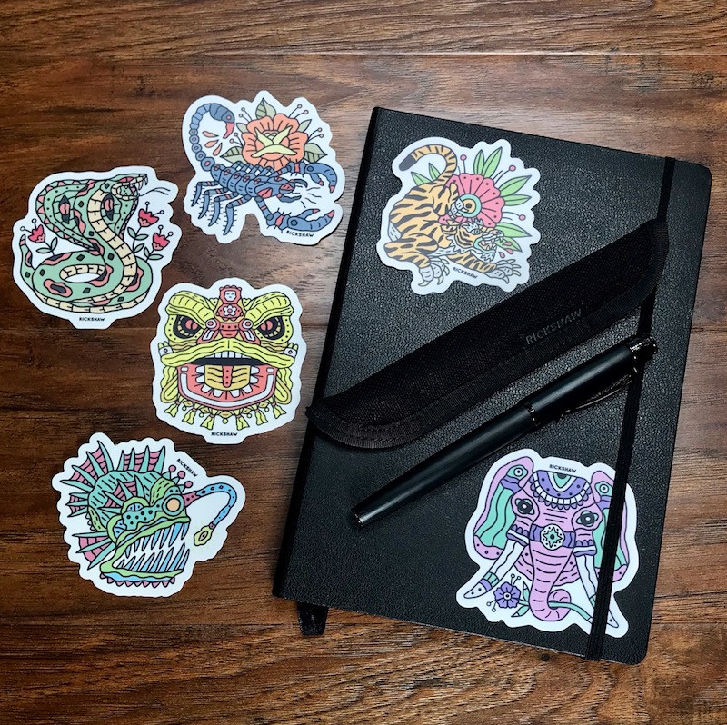 Curse/Gift Sticker Pack 2