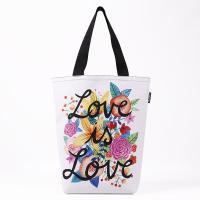 3Fish Studios: Love Is Love Grocery Tote