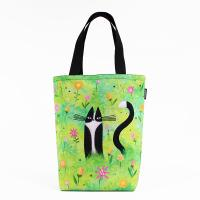 Spring Kitty Grocery Tote