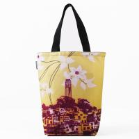 Jennifer Clifford: Coit Tower Flower Grocery Tote