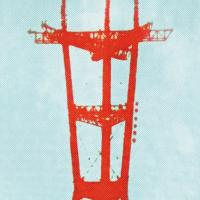 Jennifer Clifford: Sutro Tower Turquoise Musette