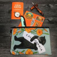 3Fish Studios: California Poppy Bear Utility Pouch