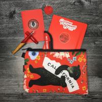3Fish Studios: California Red Bear Utility Pouch