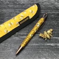 Solo Pen Sleeve-Bees-Short