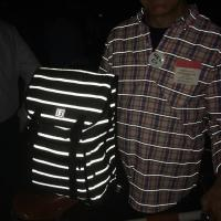 Sutro Backpack Striped Reflective Tweed