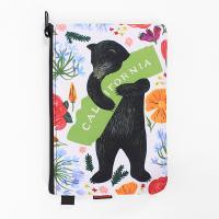 3Fish Studios: California Botany Bear Utility Pouch
