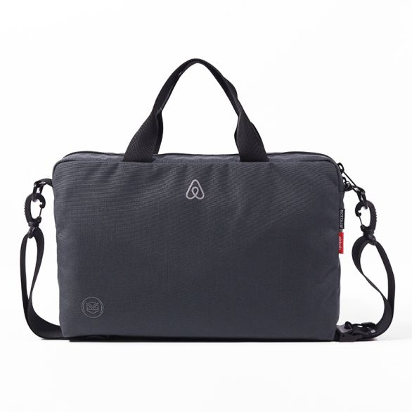 Airbnb Legal Briefcase - Steel