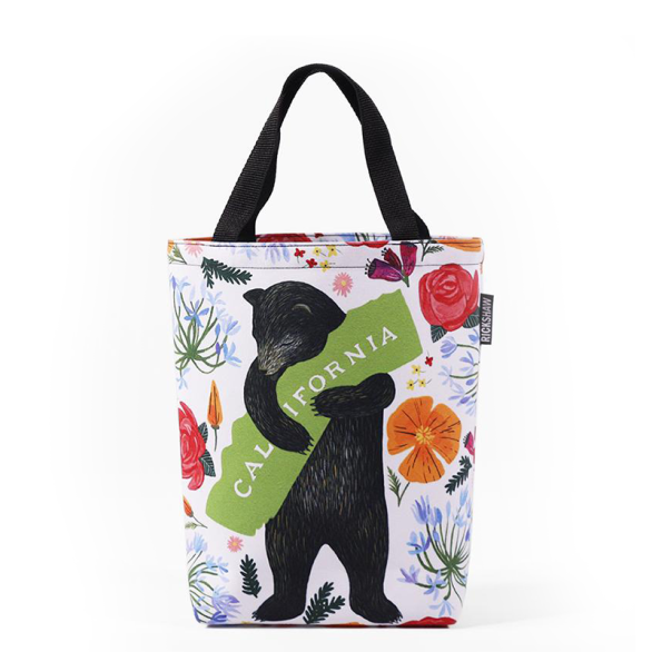 3Fish Studios: California Botany Bear Mini Tote