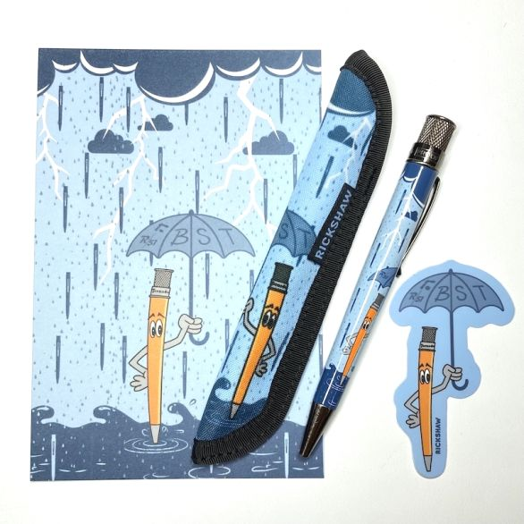 """Tuesday's Forecast"" Pen/Sleeve/Sticker Bundle"