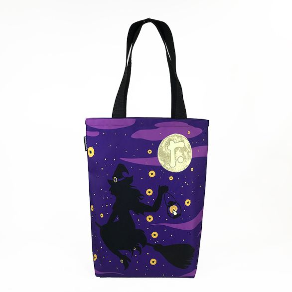 Grocery Tote - Halloween Witch