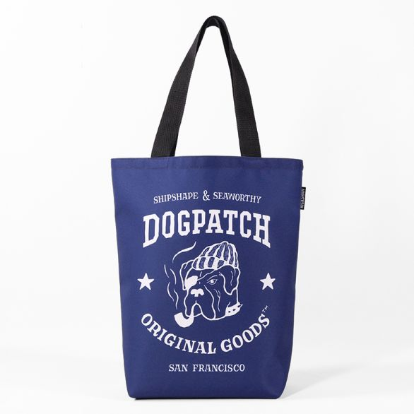 Smoking Dog Grocery Tote