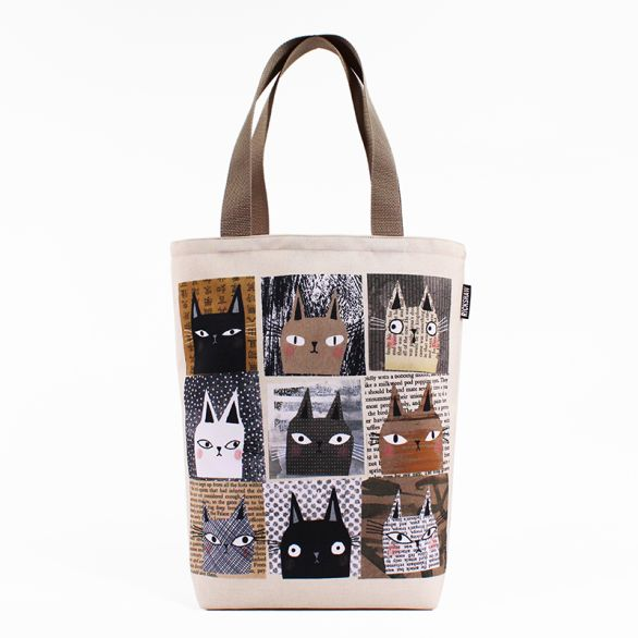 Nine Lives Grocery Tote