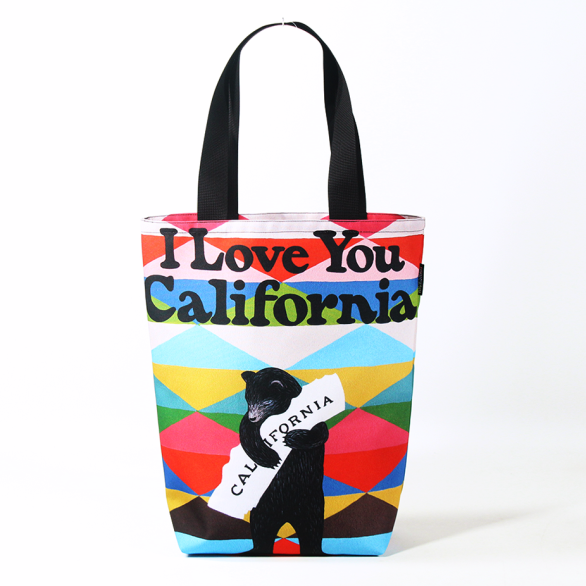 3Fish Studios: California Blanket Bear Grocery Tote