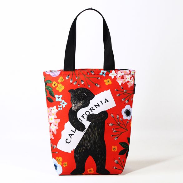 3Fish Studios: California Red Bear Grocery Tote