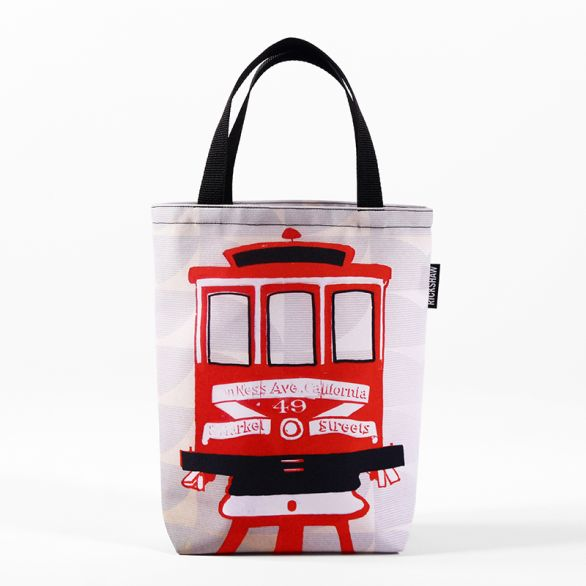 Jennifer Clifford: Cable Car Mini Tote