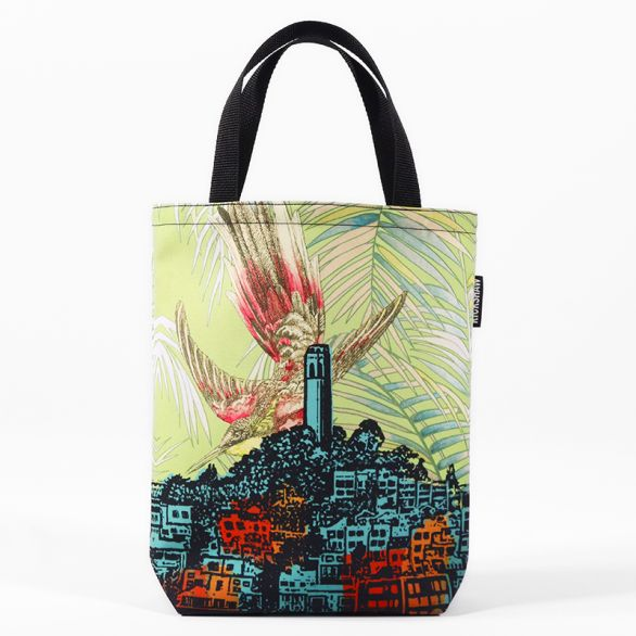 Jennifer Clifford: Coit Tower Bird Mini Tote