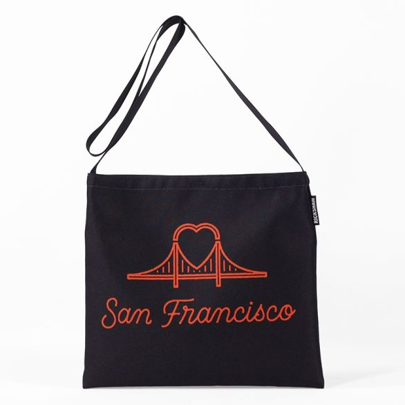 DigiPrint SF Heart Bridge Musette