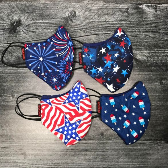Face Mask - Patriotic Prints