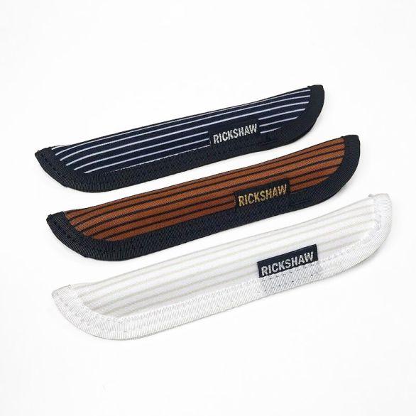 Pelikan Stripes Pen Sleeve-Short (S)-Brown