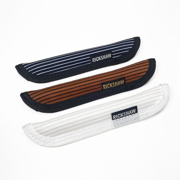 Pelikan Stripes Pen Sleeve-Short (S)-Black
