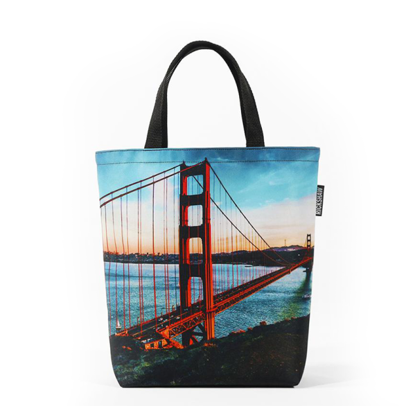 Golden Gate Photo Mini Tote