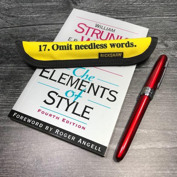 Principle 17 Pen Sleeve
