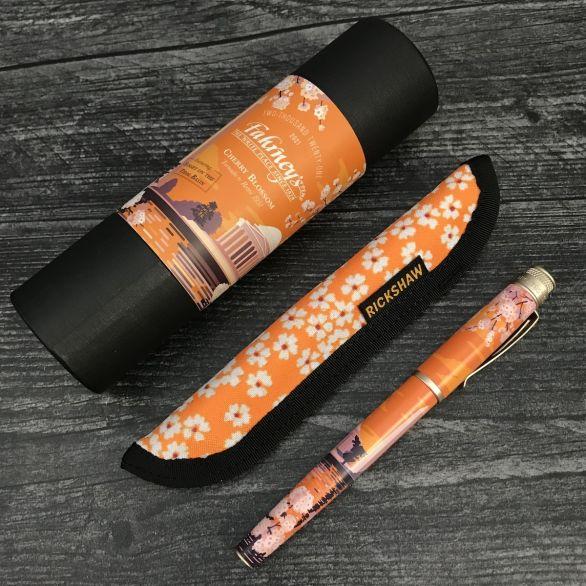 Apricot Sakura Pen Sleeve