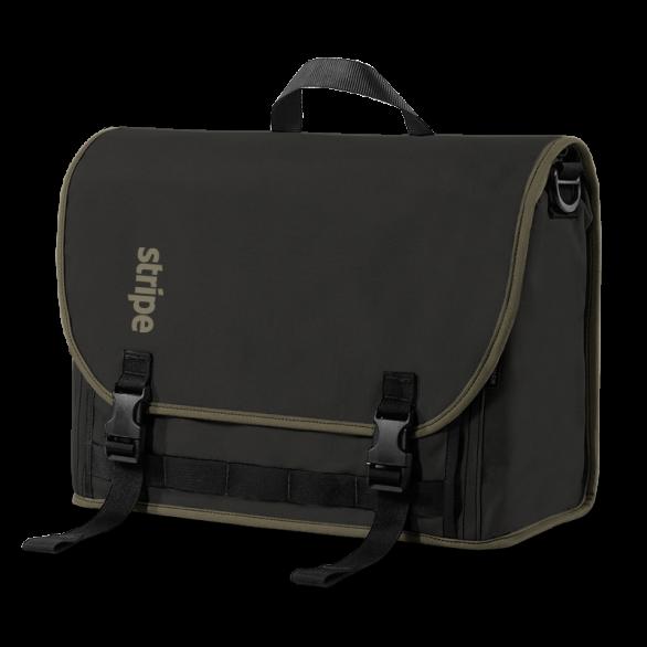 Stripe Commuter Laptop Bag