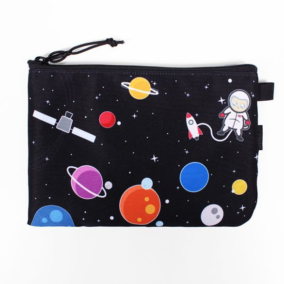 Space Cat Zipper Pouches