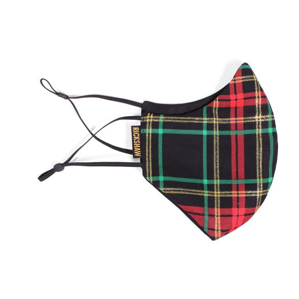 Face Mask - Christmas Plaid
