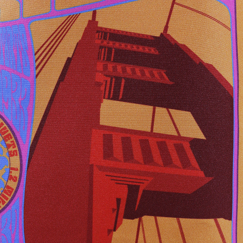 Groovy Frisco: Golden Gate Bridge