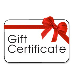 Gift Certificates ($50-$250)