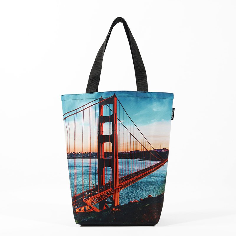 Golden Gate Photo Grocery Tote