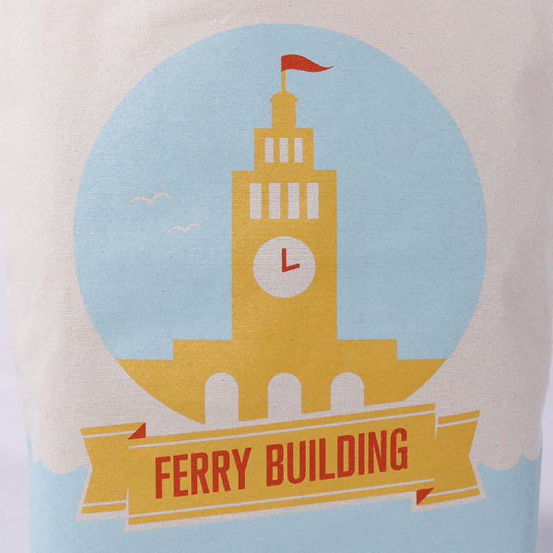 Ferry Building Landmark Grocery Tote