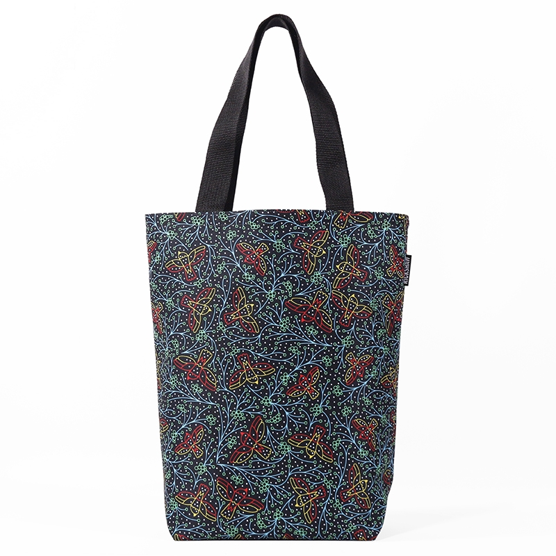 Festively Birds Grocery Tote
