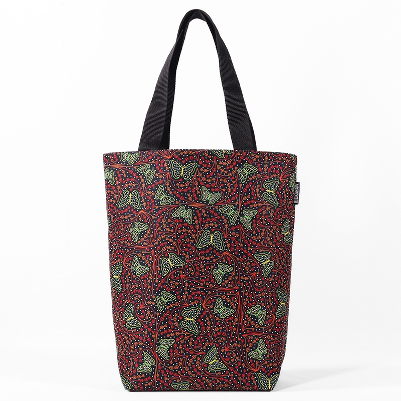 Festively Butterflies Grocery Tote