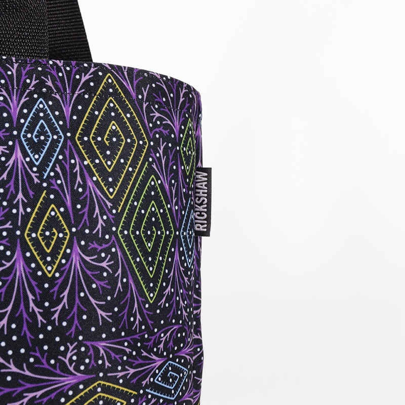 Festively Diamonds Grocery Tote