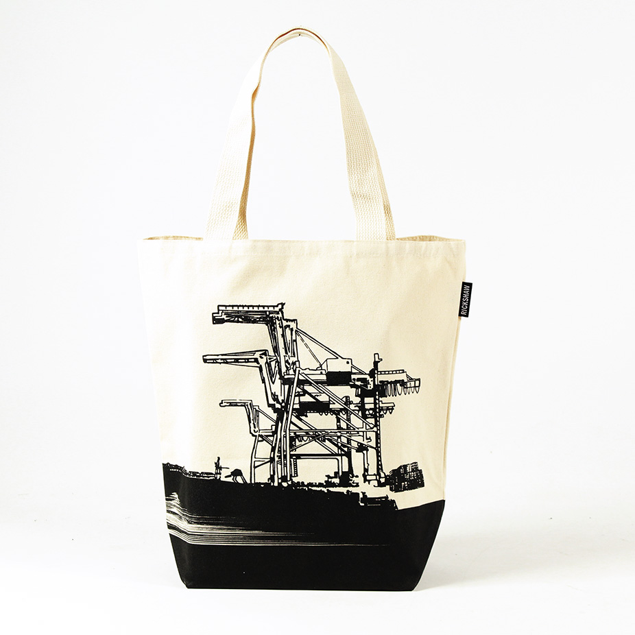 Oakland Cranes Grocery Tote