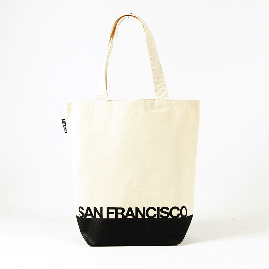 SF Type Map Grocery Tote