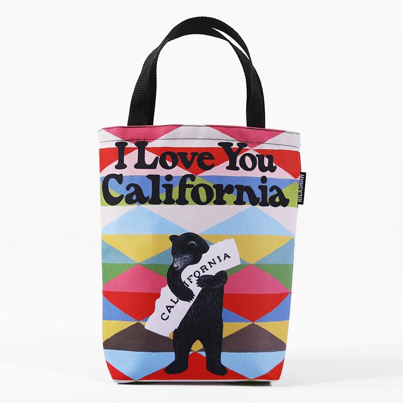 3Fish Studios: California Blanket Bear Mini Tote