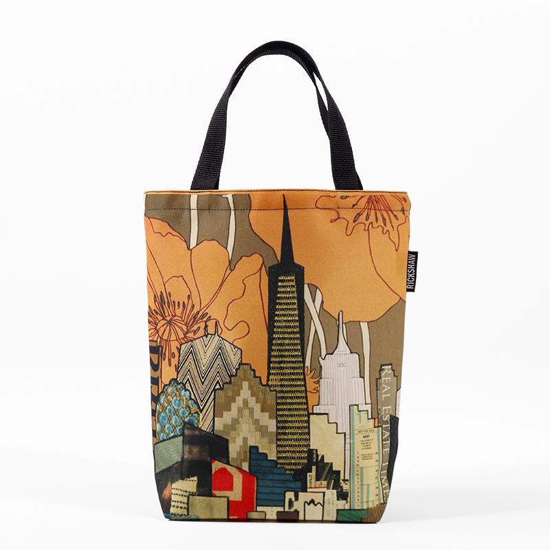 Jennifer Clifford: SF Skyline Poppy Mini Tote