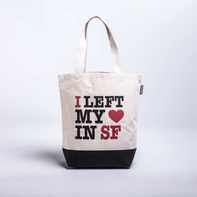 I Left My Heart In SF Grocery Tote