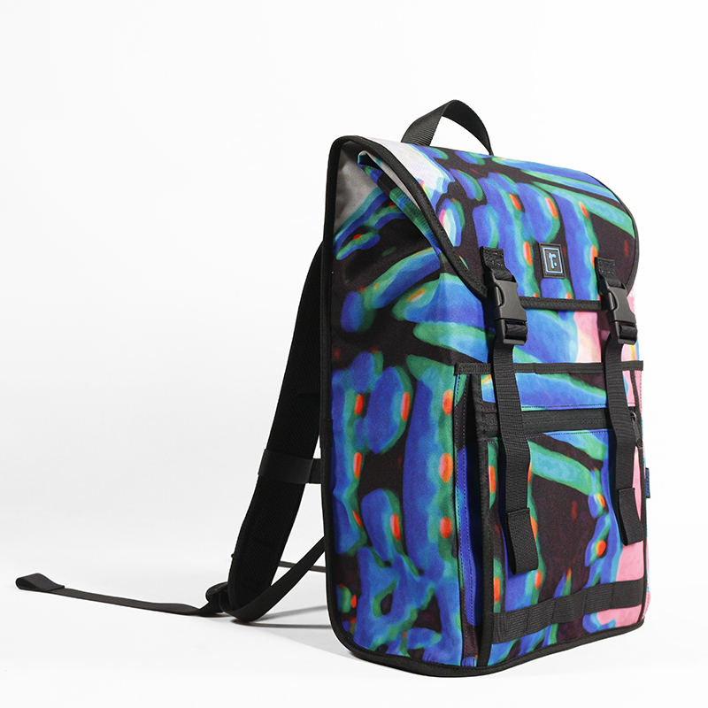 """Sutro Backpack   Spencer Dwight """"Pink Melon"""""""