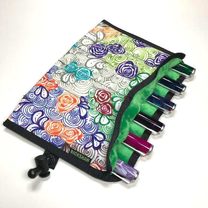 """6-Pen Hand Roll @beccakreativ """"Flower Garden"""""""