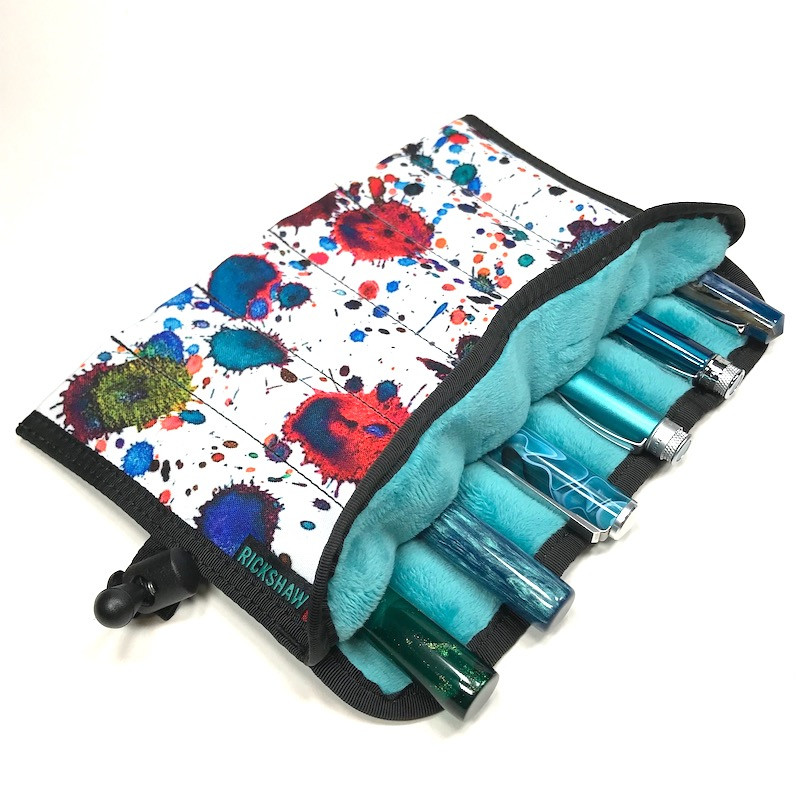 6-Pen Hand Roll Ink Splatter