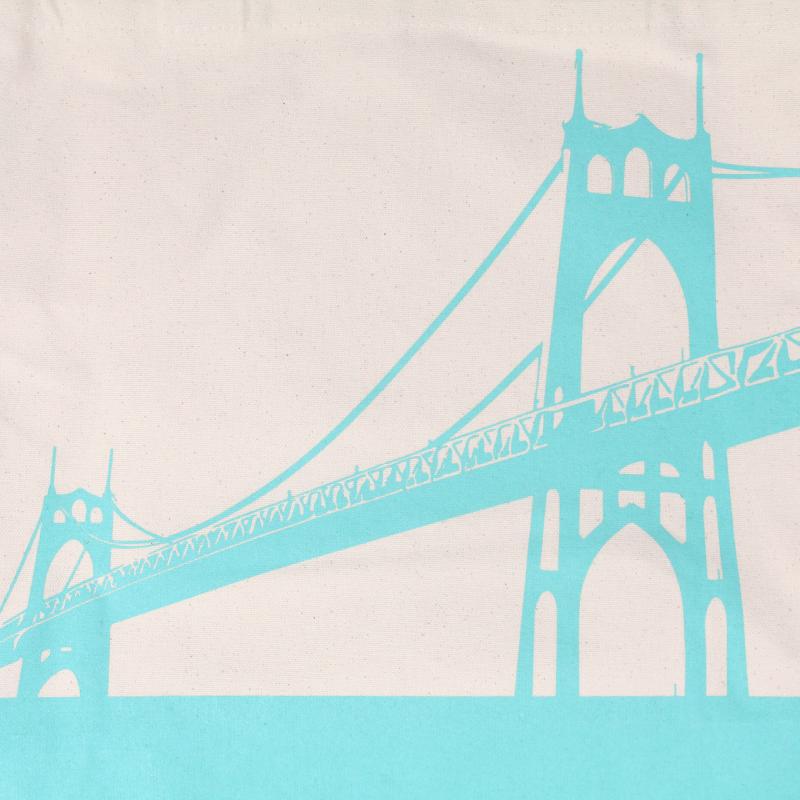 Portland St Johns Bridge Grocery Tote