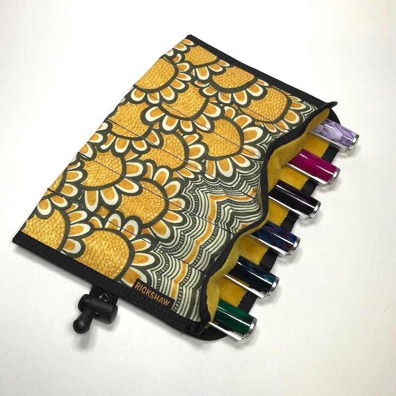 "6-Pen Hand Roll @jkwrites ""Sunflowers"""