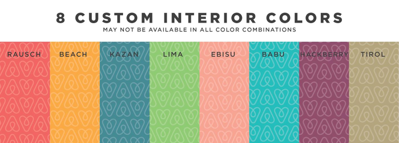 airbnb inside print options